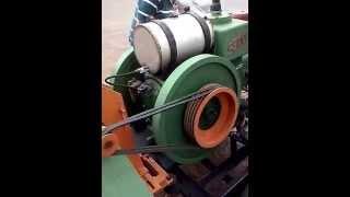 Motor estacionario diesel antigo SBMM