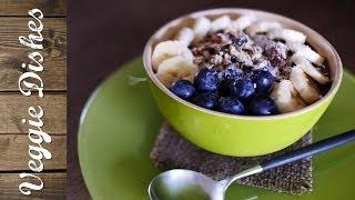 スーパーフードとグラノーラで作る定番アサイーボウル:How to Make Acai Bowl | VEGGIE DISHES by Peaceful Cuisine