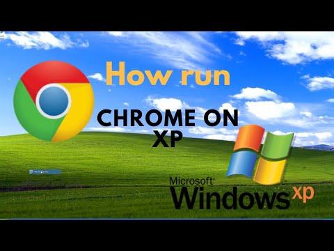 How To Run Google Chrome On Windows Xp, Win Xp Tutorial.