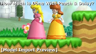 Play as Peach in NSMBW