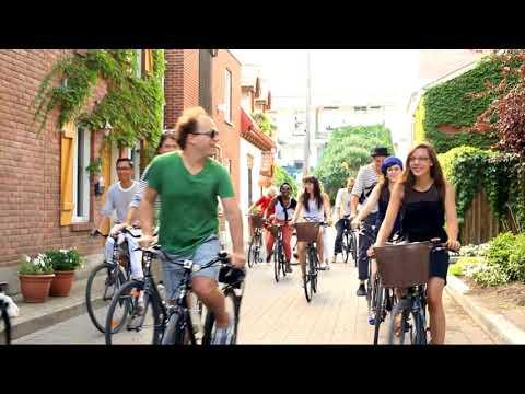 Custom Corporate Offsite Montreal Bike Tour & Picnic