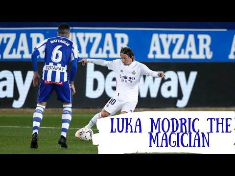 Luka Modric The Magician - 2021 Real Madrid Skills & Goals