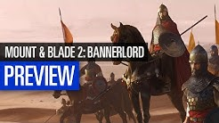 Mount & Blade 2: Bannerlord I PREVIEW I Vielversprechende Mittelalter-Action