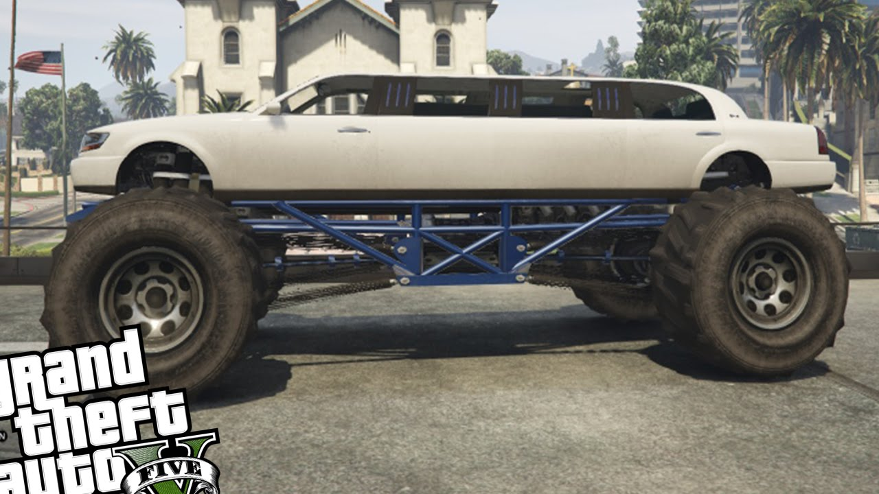 Monster truck limousine