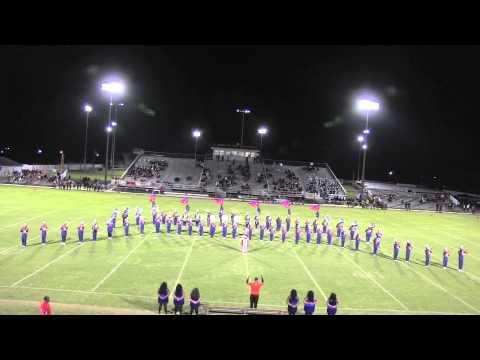 EWC Marching Band at Dillon, SC 2014