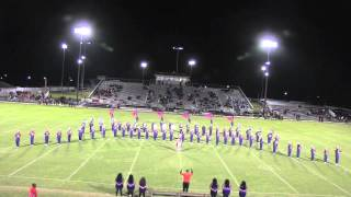 EWC Marching Band at Dillon, SC 2014