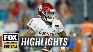Kyler Murray's Top 5 plays from 2018 | FOX COLLEGE FOOTBALL HIGHLIGHTS