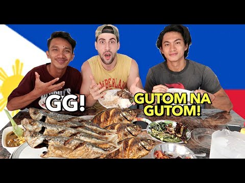 REASON WHY FILIPINOS ALWAYS EAT RICE!! Filipino Food Mukbang! GG, TALBOS ATBP!