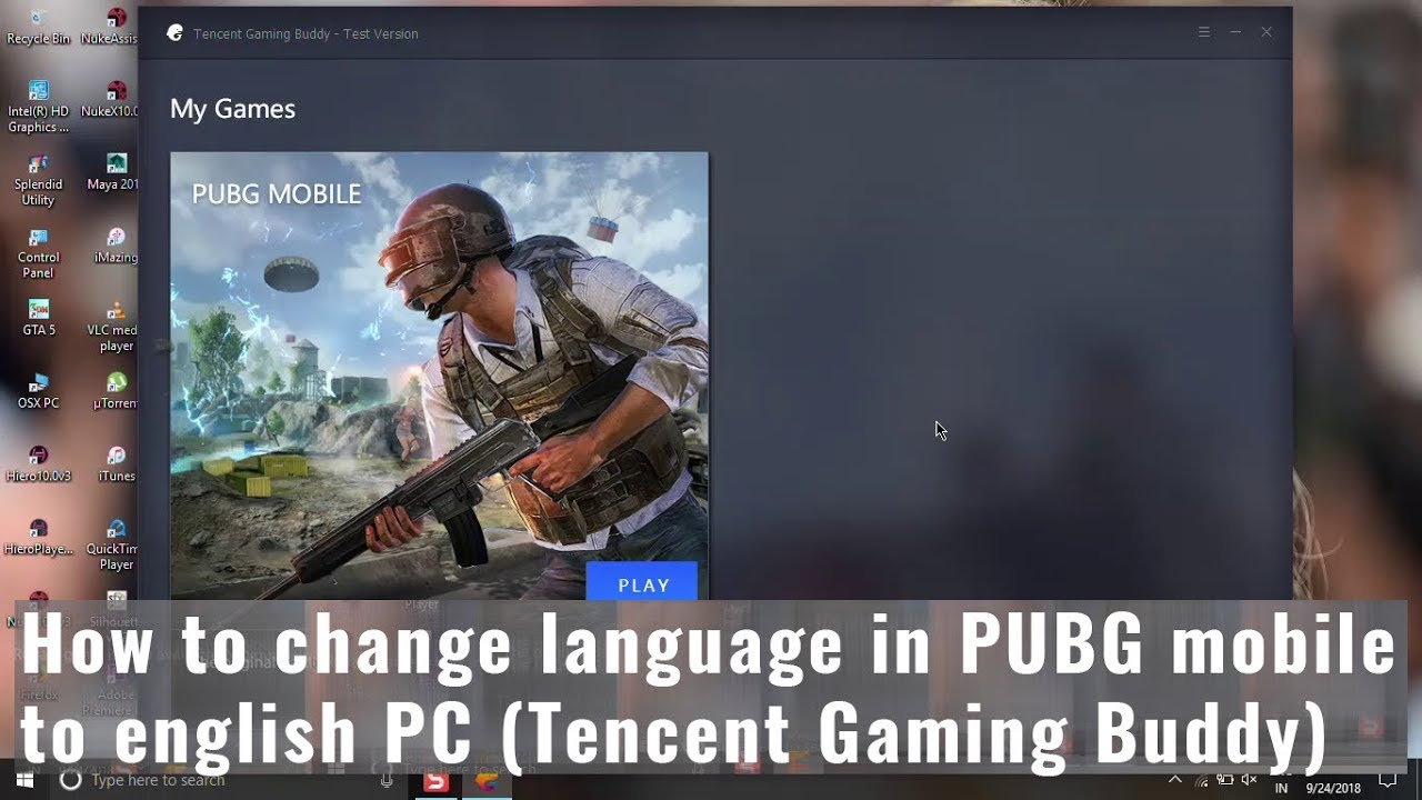English Pc How To Change Language In Pubg Mobile To English Pc Tencent Gaming Buddy