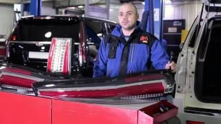 Cadillac Escalade и Chevrolet Tahoe 900. Тюнинг задних фонарей  - как на новом Escalade!!!