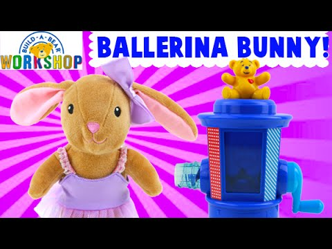 Build A Bear Workshop Ballerina Bunny Toy