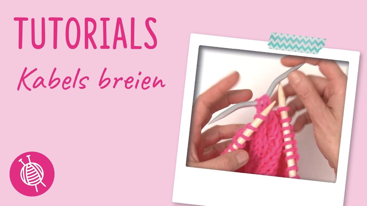 16 Kabels Breien Online Breicursus Van Wolpleinnl Youtube