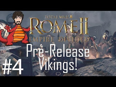 Total War: Rome 2 - Empire Divided | Saxoni Viking Dominance #4