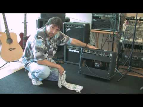 Guitar Tips : How to Clean a Guitar Amplifier