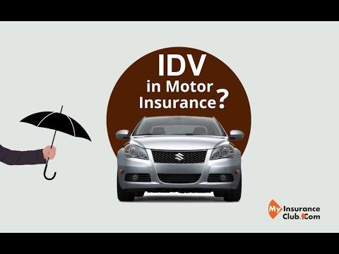 IDV in Motor Insurance