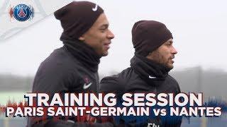 TRAINING SESSION - PARIS SAINT-GERMAIN vs NANTES With Kylian Mbappé, Neymar Jr & Dani Alves