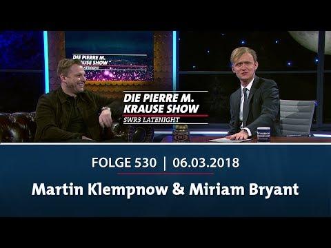 Die Pierre M. Krause Show | Folge 530 | Martin Klempnow & Miriam Bryant