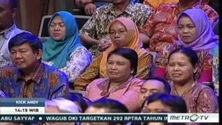 KICK ANDY 28 April 2017 - Dokterku Hebat, Prof Dr EKA JULIANTA, Dokter Saraf bisa BEDAH BATANG OTAK.