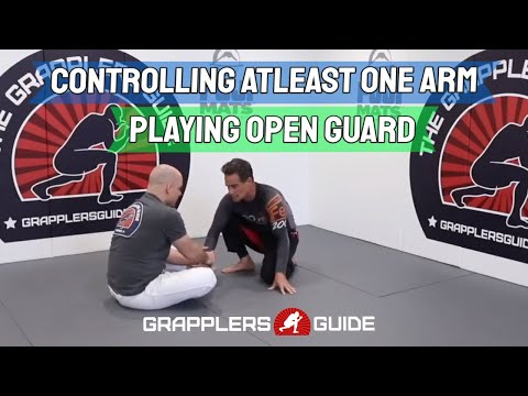 Controlling At Least One Arm When Playing Open Guard by Jason Scully