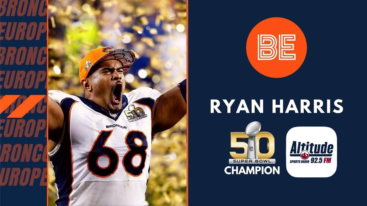 Ryan Harris speaks to Broncos Europe