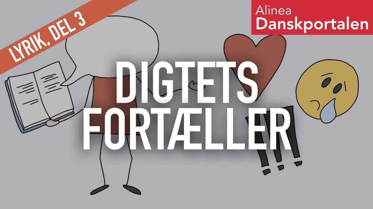 Digterstemmen og det lyriske jeg - animeret dansk