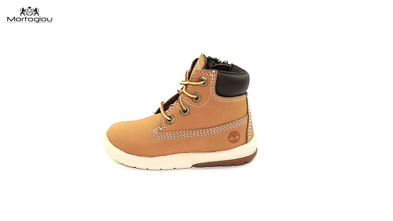 8e72ad45d9a Παιδικά Μποτάκια Timberland A1IXV Yellow Nubuck Leather - YouTube