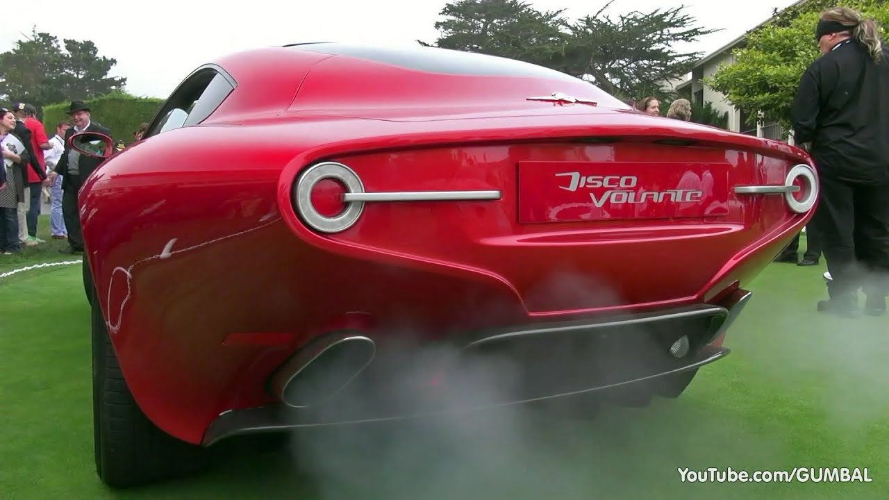 Alfa Romeo Disco Volante Touring Superleggera Start Up Sound Youtube