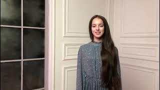 Щербакова Анна поздравляет 109 школу с юбилеем