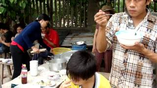 Đổ bê tông   Giáo Xứ Bông Trang