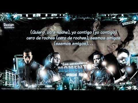 "Zion & Lennox Ft.  Arcangel , De La Ghetto - ""Momentos Remix"" Letra ★Reggaeton 2011★"