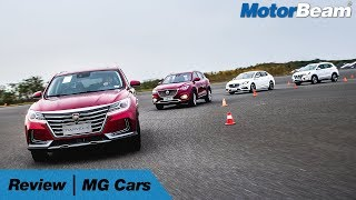 MG Cars Driven - Watch Out Indian Cars! | MotorBeam