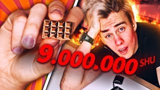 NAJOSTRZEJSZA KOSTKA CZEKOLADY! (9.000.000 SHU)