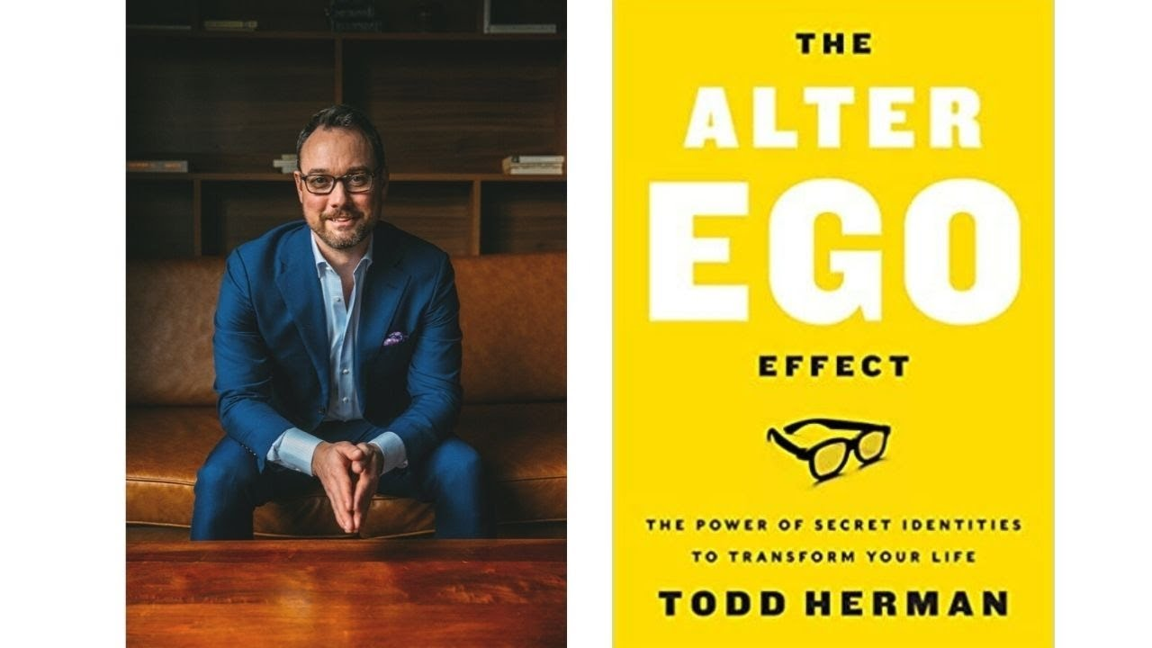 Image for Author Talk: The Alter Ego Effect with Todd Herman webinar