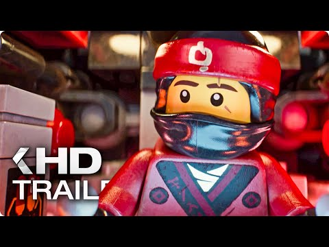THE LEGO NINJAGO MOVIE Trailer 3 German Deutsch (2017)