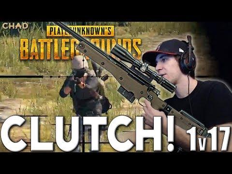 1v17 AWM CLUTCH! 22 KILL SQUAD PlayerUnknowns Battlegrounds