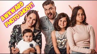 AWKWARD FAMILY PHOTOSHOOT!