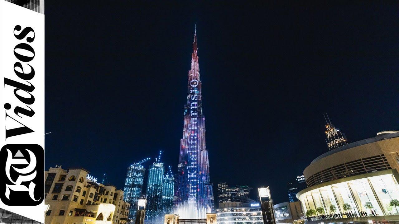 Dubai's Burj Khalifa celebrates 10th anniversary