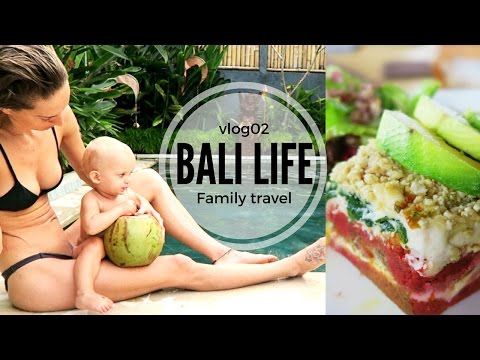 BALI LIFE VLOG02 // FREE E-BOOK + best ever raw vegan meal!!