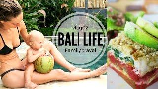 BALI LIFE VLOG02 // FREE E-BOOK + best ever raw vegan meal!!