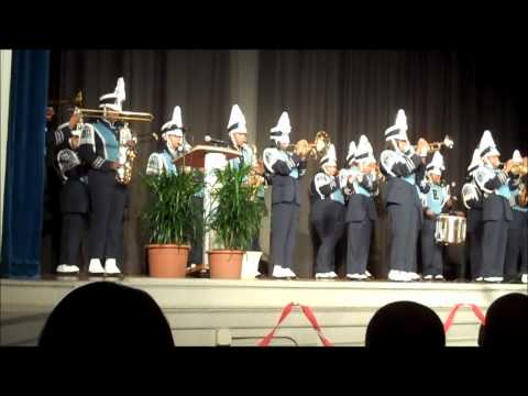 Eastern Senior High School Marching Band Performs