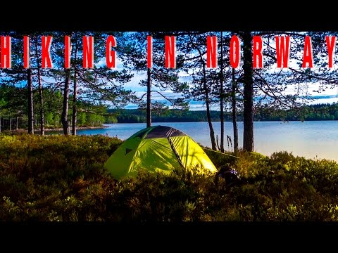 BEAUTIFUL LAKE! TRAVEL HIKING ADVENTURE IN NORWAY