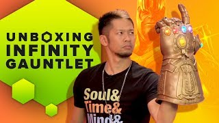 spiderman infinity gauntlet