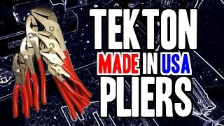 TEKTON Pliers - MADE IN USA