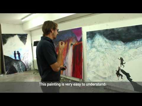 "CONTEMPORARY FINE ARTS / Daniel Richter  ""10001nacht"""