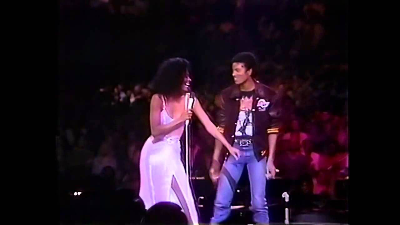 Diana Ross & Michael Jackson | Upside Down HD | Live in Los Angeles 1981