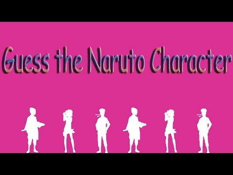 "Игра ""Guess The Naruto Character"" 41, 42, 43, 44, 45 уровень."