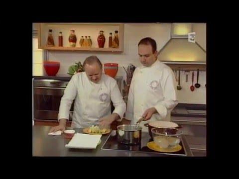 Joue de boeuf et huile d'olive de Pierre-Louis Marin chez Joël Robuchon