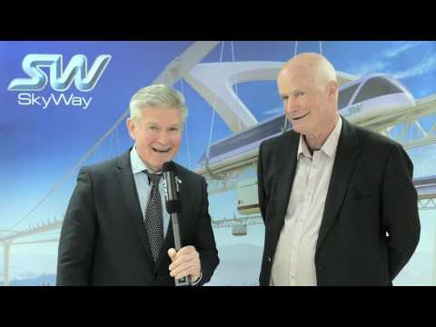 Visite de Rod Hook et Peter Doggett chez Skyway