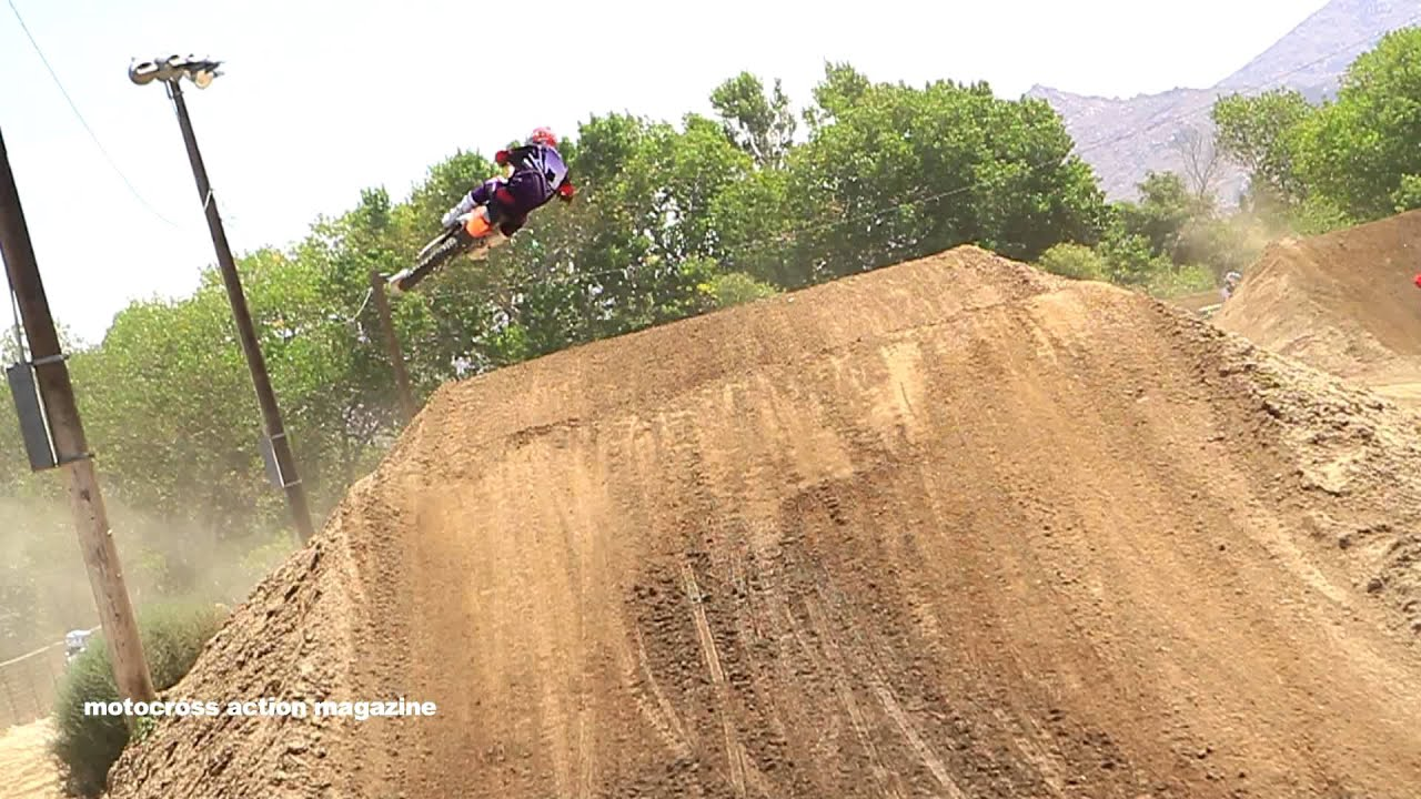 """""""Nothin but Smoke"""" Motocross Action Rides the 2014 KTM150SX"""