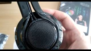 iball Glint BT06 Headset unboxing.